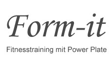 Form-it, Fitnesstraining mit Power Plate